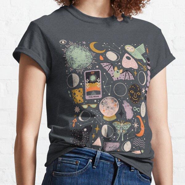 Lunar Pattern: Blue Moon Classic T-Shirt