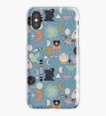 Lunar Pattern: Blue Moon iPhone Case/Skin