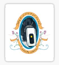 GLaDOS Knows Best Sticker