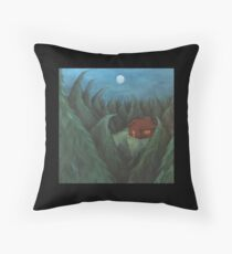 ISOLATION (cropped) Throw Pillow