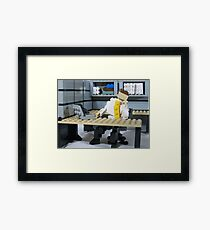 Success Framed Print