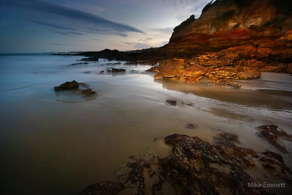 Anglesea Cliffs by Mike Emmett
