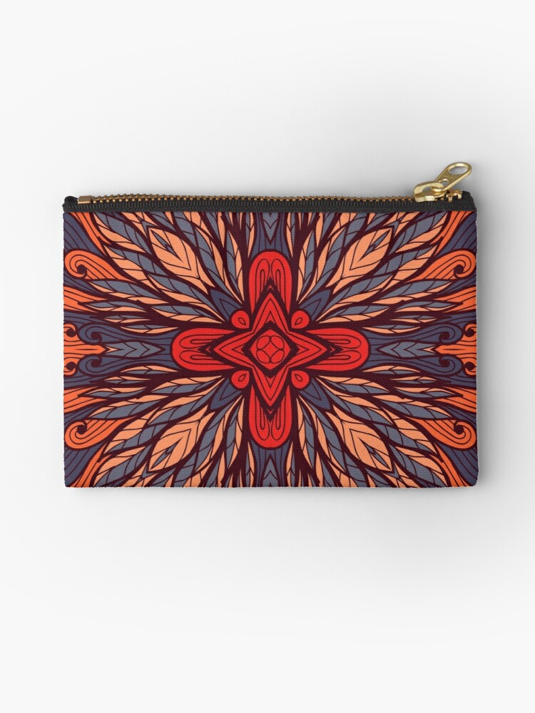 Hand drawn floral ornament by Patternalized