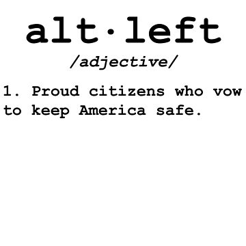 Alt Left T-Shirt by BPFMarketing