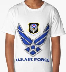 AFSOC Crest With The Air Force Symbol Long T-Shirt