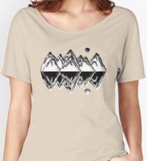 Light & Dark Mountains Women's Relaxed Fit T-Shirt