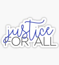 justice for all Sticker