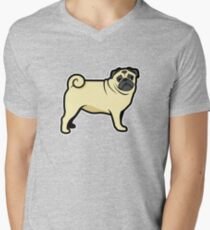 pug puppy cartoon - just pug dog T-Shirt