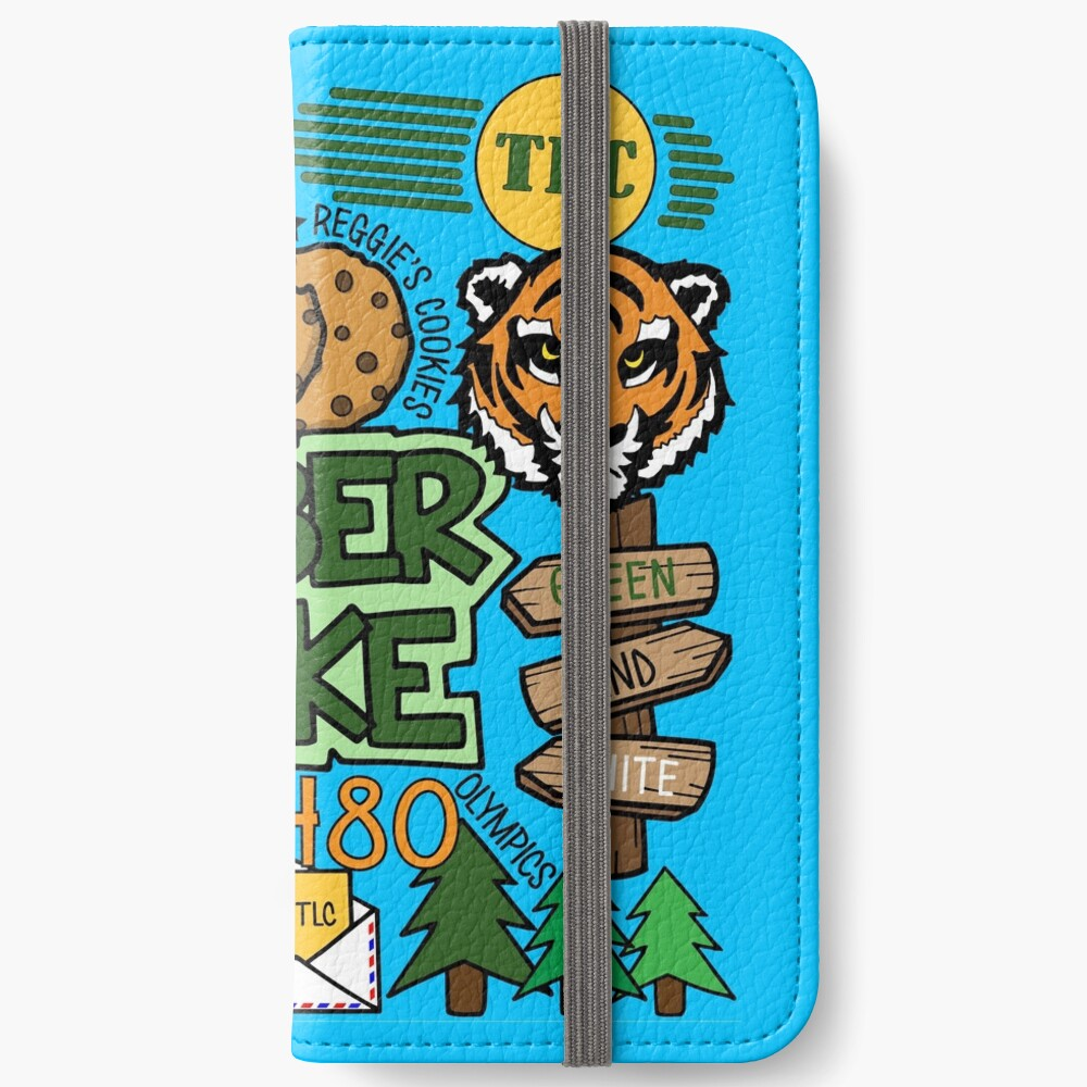 Timber See iPhone Flip-Case