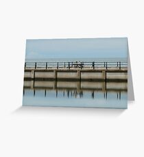 Watching the day go by Greeting Card
