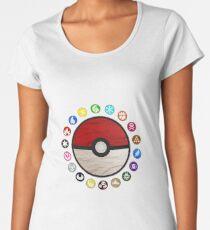 Pokemon Pokeball Women's Premium T-Shirt
