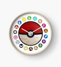 Pokemon Pokeball Clock