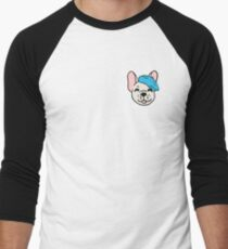No Words Frenchie (Beige/Blue T-Shirt