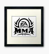 MMA SPORTS Framed Print