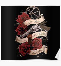 the gunslinger dark tower Poster