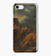 Pythagoras Emerging from the Underworld 1662 Salvator Rosa iPhone Case/Skin