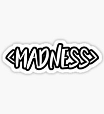 SLEEPING WITH SIRENS - Madness Sticker
