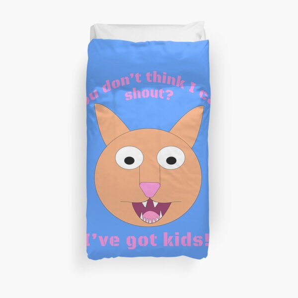 Carrie and the Shout (BUB)  Duvet Cover