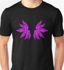 Pink Fairy Wings T-Shirt Womens Top Unisex T-Shirt