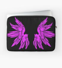 Pink Fairy Wings T-Shirt Womens Top Laptop Sleeve