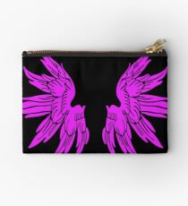Pink Fairy Wings T-Shirt Womens Top Studio Pouch