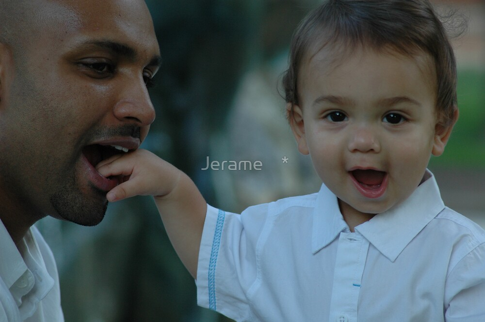 Like Father, Like Son by Jerame    *