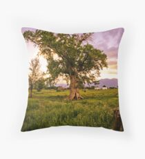 Flocking Throw Pillow