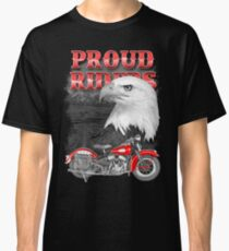 Proud Riders Eagle Classic T-Shirt