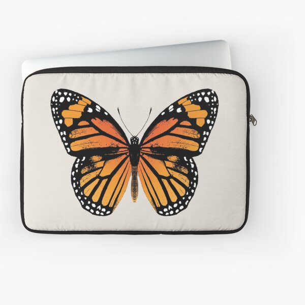 Monarch Butterfly | Vintage Butterflies |  Laptop Sleeve