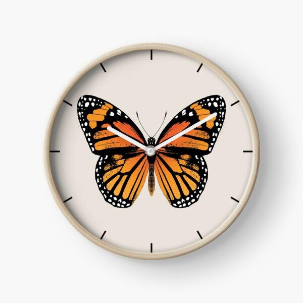Monarch Butterfly | Vintage Butterflies |  Clock