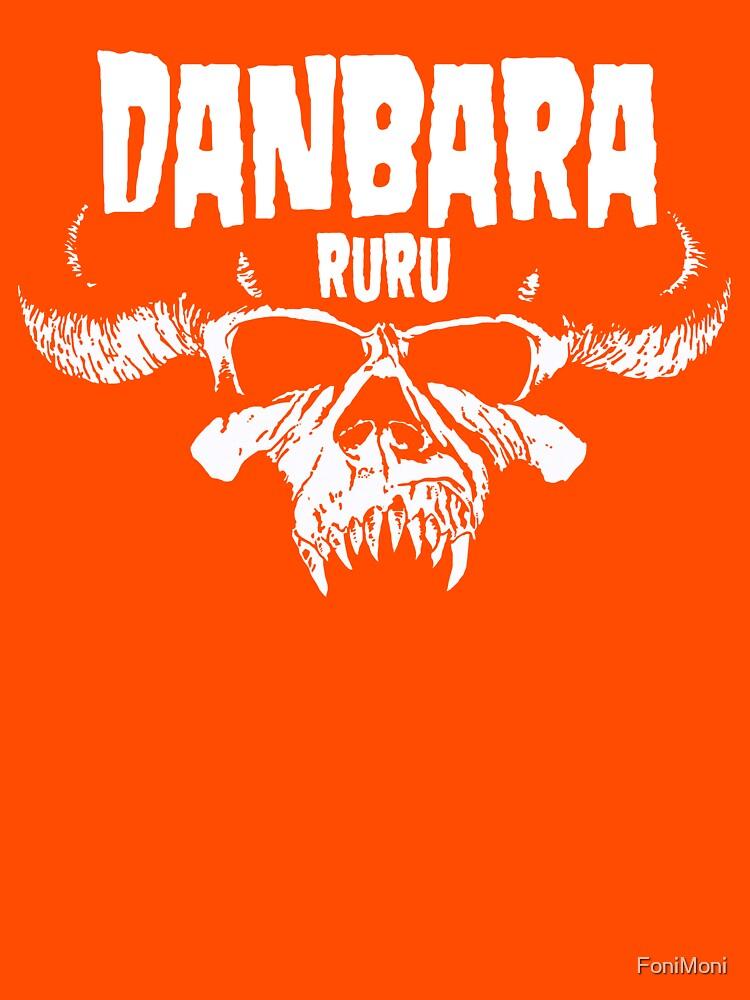 Danbara Ruru - Danzig - White Ink by FoniMoni