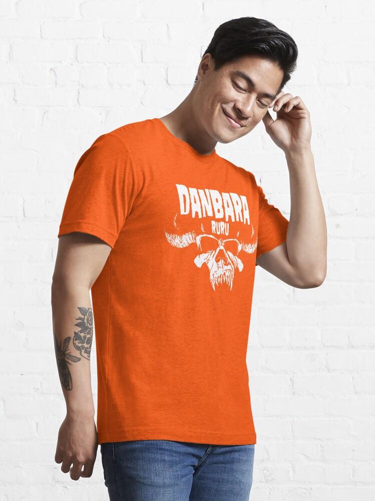 Alternate view of Danbara Ruru - Danzig - White Ink Essential T-Shirt