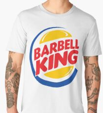 Barbell King Men's Premium T-Shirt