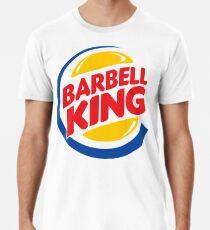 Barbell König Männer Premium T-Shirts