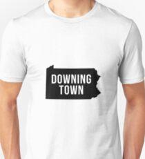 Downingtown, Pennsylvania Silhouette T-Shirt