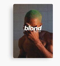 Frank Ocean - Blond Canvas Print