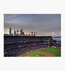 San Francisco Giants at twilight Photographic Print