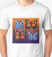 """""""Five Butterfies"""" Unisex T-Shirt"""