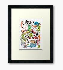 Sushi Bar: The point of Nori-turn Framed Print