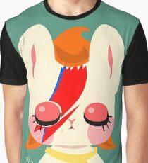 Glam Rocker Kitty Graphic T-Shirt