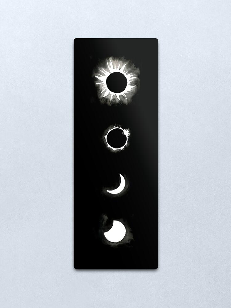 Alternate view of Eclipse Metal Print