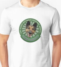 German Shepherd Dad Eat Sleep Dog Repeat T-Shirt