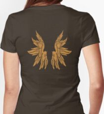 Golden Angel Icarus Wings T-Shirt