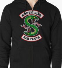 serpents Zipped Hoodie