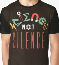 Science Not Silence Graphic T-Shirt