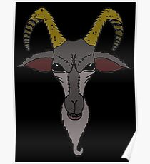 ANOTHER BAPHOMET GOAT Poster