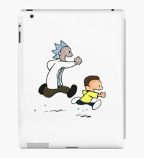 Rick and Morty / Calvin and Hobbes iPad Case/Skin