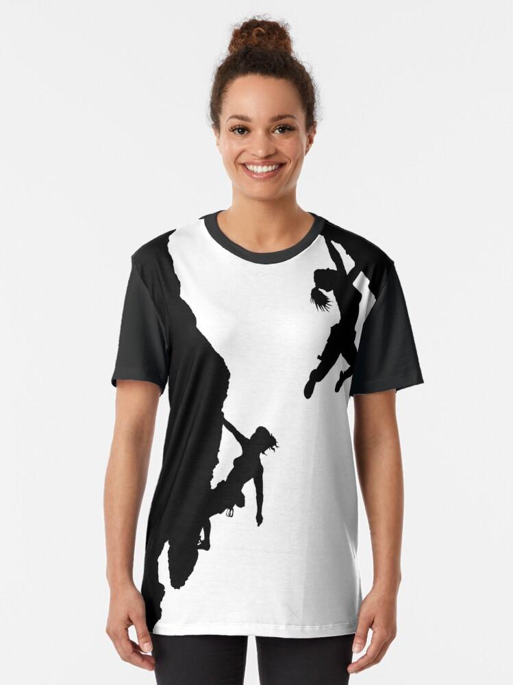 Confortable Escalade Standard T-shirt femme