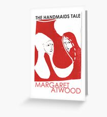 handmaid tale Greeting Card