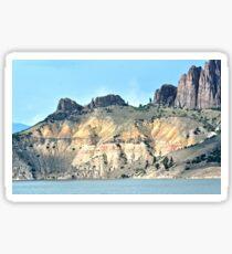 Colorado Mountainside Sticker